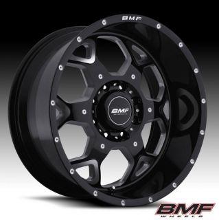 BMF S.O.T.A. 20 Death Metal wheels 8 on 180