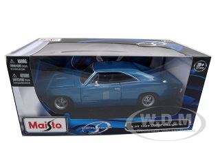 Brand new 1:24 scale diecast car model of 1969 Dodge Charger R/T die