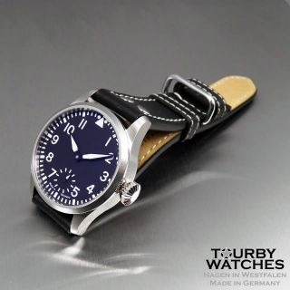 Tourby Aviator BB3C Pilot ETA Unitas 6498 2 Top Grade