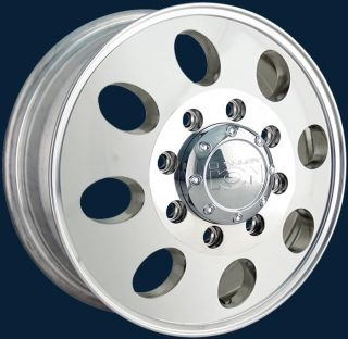 Ion Alloy Style 167 Dually Polished Finish New Set of Wheels 16x6