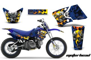 AMR Racing Motor Cross Background Graphic MX Decal Kit Yamaha TTR 90