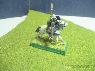 Warhammer 1984 Vintage Fantasy Bretonnia Mounted Knight Painted Metal