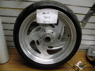 Custom Mag Wheels Harley Chopper 17 190 Rear 120 Front