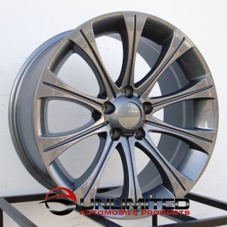 18 M5 Style Gunmetal Wheels Rims Fit BMW E60 F10 5 Series