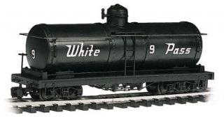Bachmann Big Haulers White Pass Tank Car G Scale 160 93419