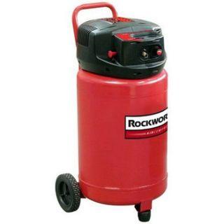 Rockworth 1 8 HP 20 Gallon Oil Free Portable Air Compressor RW1820F CP