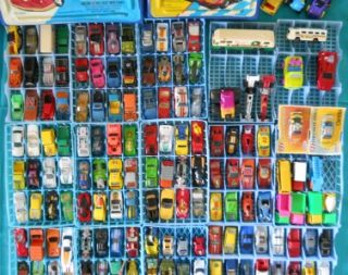 Lot 163 Vintage Hot Wheels, Matchbox & More 163 Cars, Trucks, & More