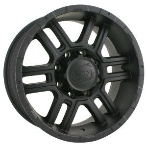 18 inch ion 179 Black Wheels Rims 6x5 5 Frontier Pathfinder Titan