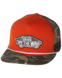 Vans Trucker Cap Camo Hat Classic Patch O s F A Australian Seller Fast
