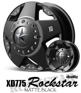 17 inch x6 Rockstar Dually Wheels 8x170 Ford F250 F350
