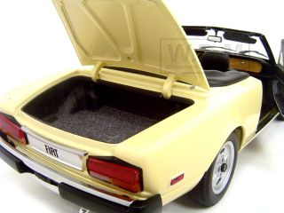 Brand new 118 scale diecast Fiat Spider 124 by Auto Art.