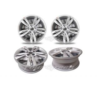 Aluminum Wheels Rims Set 4pcs 17 for 10 13 Tucson New 529102S200 X4