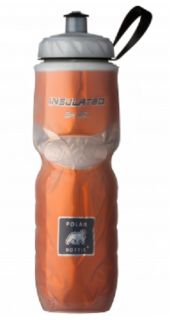 Polar Bicycle Insulated Water Bottle 24oz Gold New