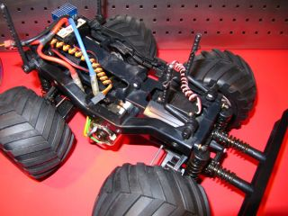 VINTAGE TAMIYA WILD WILLY 2 METALLIC / CHROME EDITION w/ ESC blackfoot