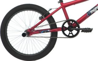 Mongoose Strike 20 Boys BMX Bicycle Bike Matte Red R2376B