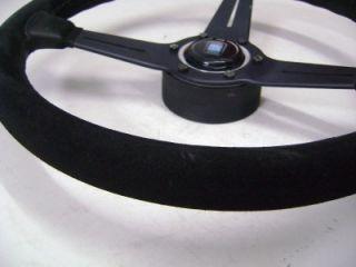 Nardi Black Suede Original Steering Wheel