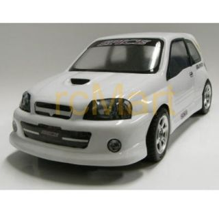 SPICE (#SPA 164) TOYOTA Starlet EP91 UNPAINT mini Body (210mm)