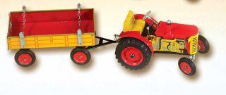 Tractor Trailer 1 25 Scale Zetor Kovap