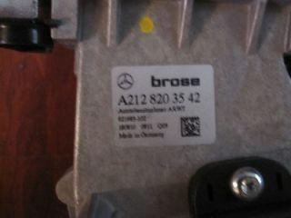MERCEDES BENZ E CLASS (W212) 2011 UP LIFT GATE PULL DOWN MOTOR