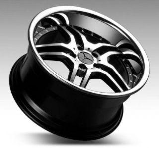 19 Euromag EM2 Wheels Rims Mercedes Benz W203 C W209 CLK W210 W211 E