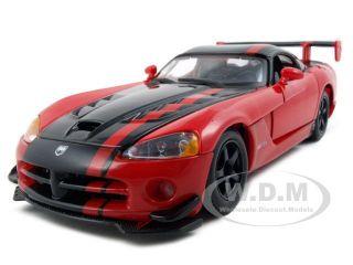 Dodge Viper SRT 10 ACR Red Black 1 24 Diecast Model Car