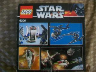 This auction is for a LEGO Star Wars Tie Interceptor #6206, with its