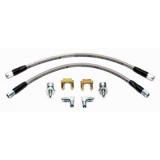 Wilwood Brake Lines Flexline Braided Stainless Steel Chevy Corvette