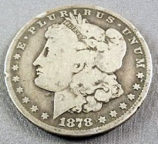 1878 CC Morgan Silver Dollar $