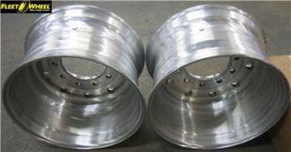 Alcoa 22 5 x 13 00 Aluminum Wide Base Steer Wheels 2