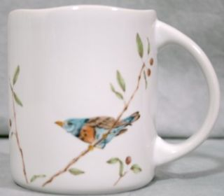 222 Fifth Early Bird Fine China Coffee Mug Cup