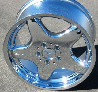 MERCEDES SLK320 SLK230 CLK430 320 AMG CHROME WHEEL RIM 1 SINGLE REAR