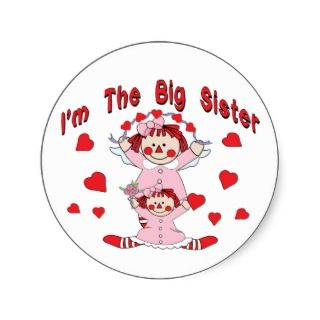 Rag Doll Big Sister Sticker