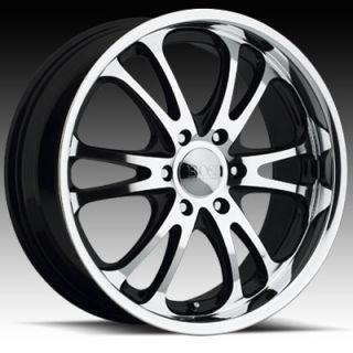 20 x8 5 Boss 313 3130 Super Finish Wheels Rim 5 6 8 Lug