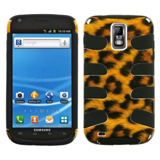 Mobile Samsung Galaxy s 2 II T989 Dual Layer 2 Tone Hybrid Case