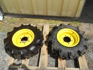16 Firestone Field Road Tractor Tires Rims No Reserve 323