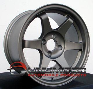Offset Varrstoen V1 Style Wheels Rims Fit Nissan 240sx 4x114 3