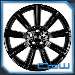 Black Land Rover Range Sport Stormer II New Wheels Rims Style