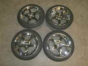 1988 Ford Mustang 17x9 Cobra Wheels Rims Tires Set 4