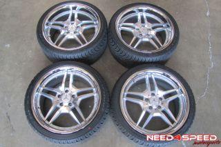 W211 E320 E350 E500 E550 E55 E63 Roderick Wheels Nexen Tires