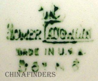HOMER LAUGHLIN china L621 APPLE BLOSSOM pattern CREAMER, CREAM PITCHER