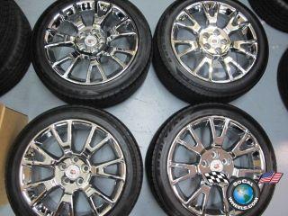 Cadillac cts Factory 19 Chrome Wheels Tires Rims 9597711 4671