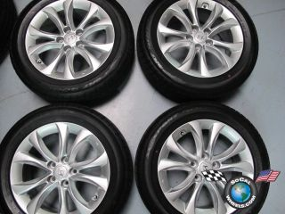 2012 Hyundai Genesis Factory 17 Wheels Tires OEM Rims Dunlop 225/55/17