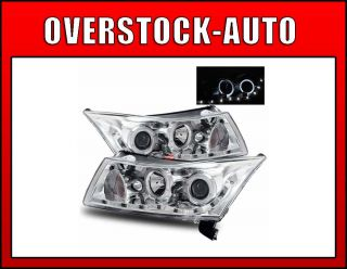 2011 2012 Chevy Cruze 2LS Halo LED Projector Headlights