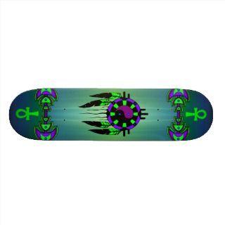 Spiritual Magic Skateboard   Customized