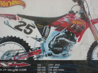 New N Style Hot Wheels Kit CR125 250 Honda 02 2007 CR125 CR250