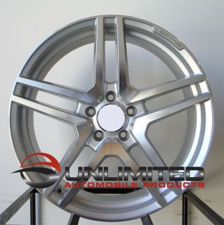 20 AMG Staggered Style Silver Wheels Rims Fit Mercedes s Class W220