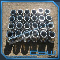 Cadillac Escalade Chrome Lug Nuts Set of 24 Fits Silverado Suburban