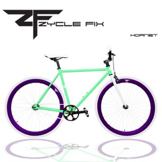 Gear Bike Fixie Bike Track Bicycle 55 cm w Deep Rims Hornet