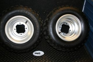 Yamaha 2004 YFZ450 YFZ 450 Rear Wheels Rims Tires