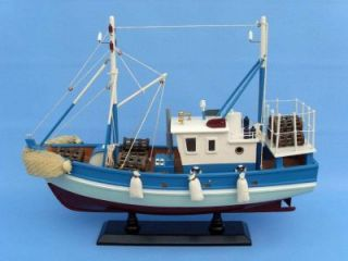 Outrigger 18 Model Fishing Boat SHIP Wood